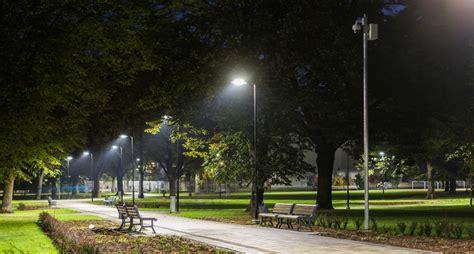 project lights ziedondarzs park lighting project