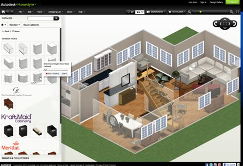 Home Design Online Autodesk best programs to create design your home floor plan