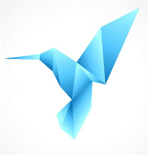 origami bird logo 50 all time best adobe illustrator tutorials for beginners