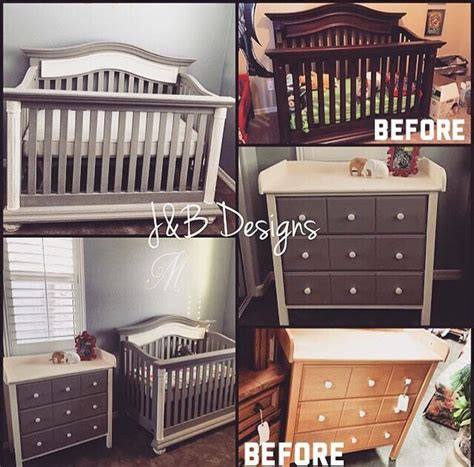diy chalk paint crib paint instagram and grey on