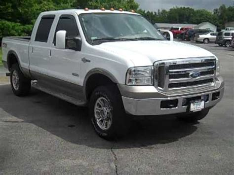 2005 Ford F250 Diesel by 2005 Ford F250 Crew Cab 4wd King Ranch Diesel From