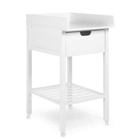 changing table drawer changing table drawer white wheels childhome