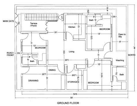 house building plans 10 marla house plans civil engineers pk