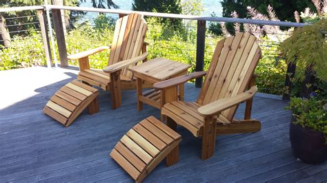 What Is An Adirondack Chair by Seattle Adirondack Chairs And Cedar Outdoor Furniture