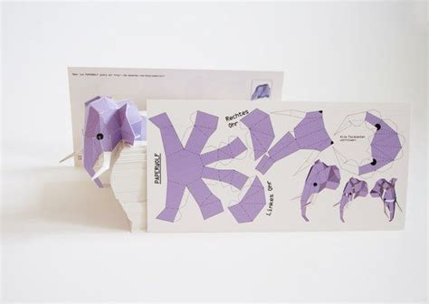 animal paper crafts templates 17 best images about 3d animal templates on