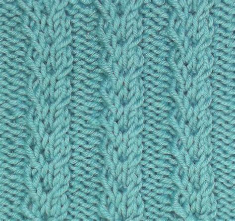 twisted knitting stitches 17 best images about july 2012 knitting stitch patterns on