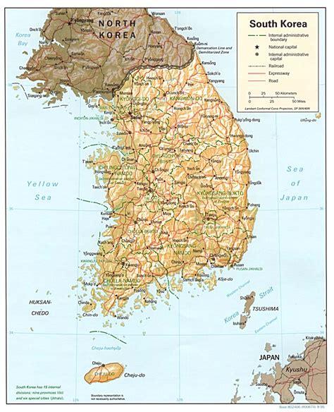south korea nationmaster maps of korea south 9 in total