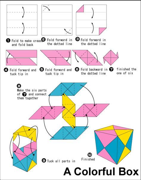 teaching origami sonobe cubes kinsman