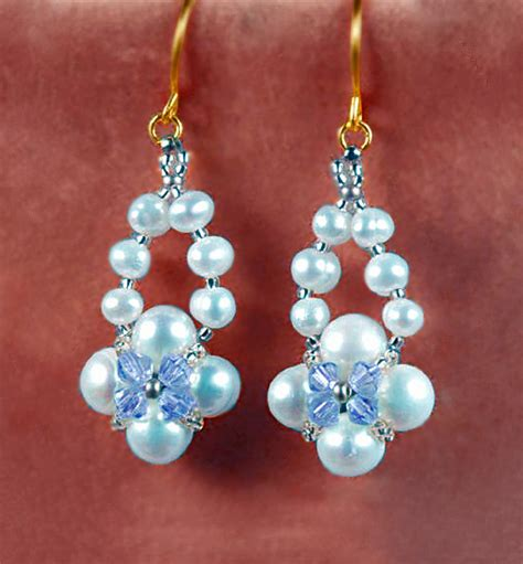 free beaded earring patterns earrings patterns magic