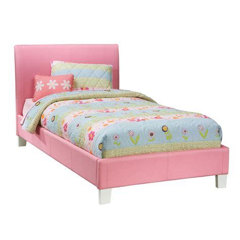 pink upholstered bed standard furniture fantasia upholstered platform bed in