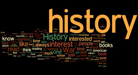 the history of 10 history major problems