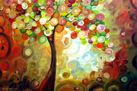 colorful painting colorful painting by luiza vizoli 6