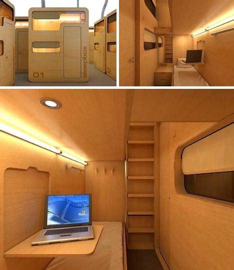 Clever Desk Ideas sleep box modular office pod business travel bedroom