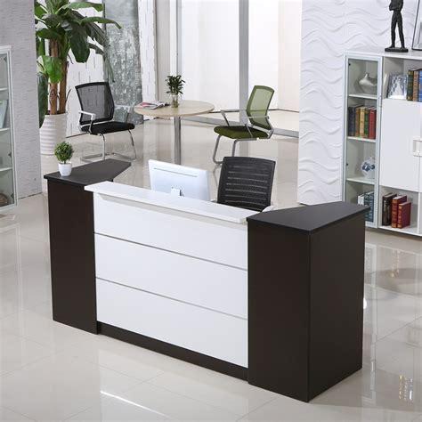 office counter desk customized wooden vintage reception desk office furniture