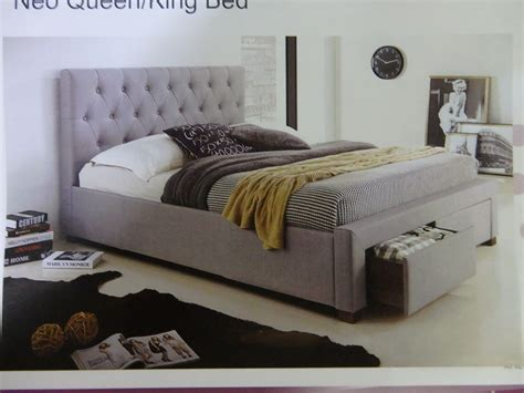 new queen bed with storage drawers 699 king bed frame