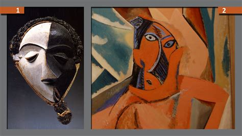 picasso paintings mask picasso s works striking resemblances to these