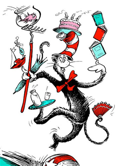 cat in the hat pictures from the book top 100 picture books 36 the cat in the hat by dr seuss