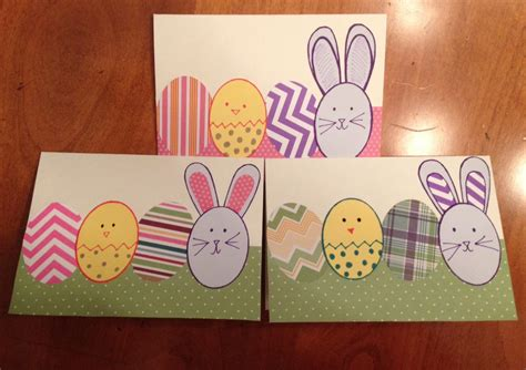 easy to make easter cards easy easter cards