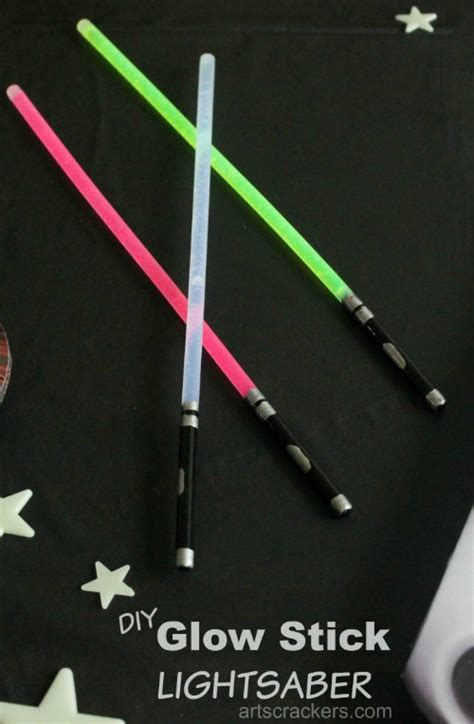 glow stick crafts for wars ideas and freebies