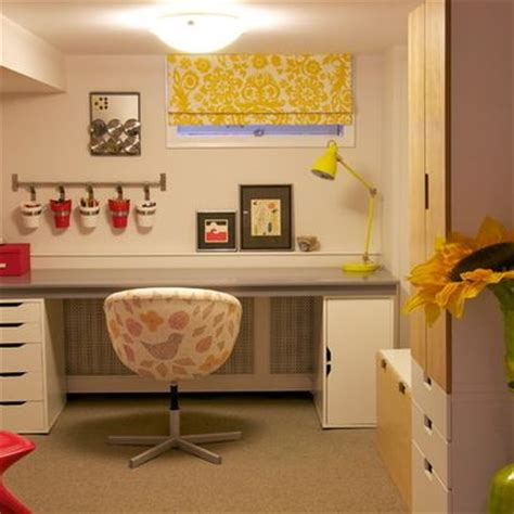 Basement Window Treatment by Basement Window Treatments Craft Room Pinterest
