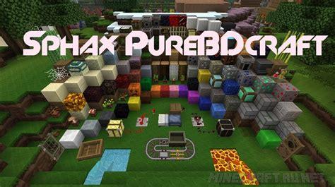 craft packs for sphax purebdcraft 512x512 1 9 resource packs mc pc