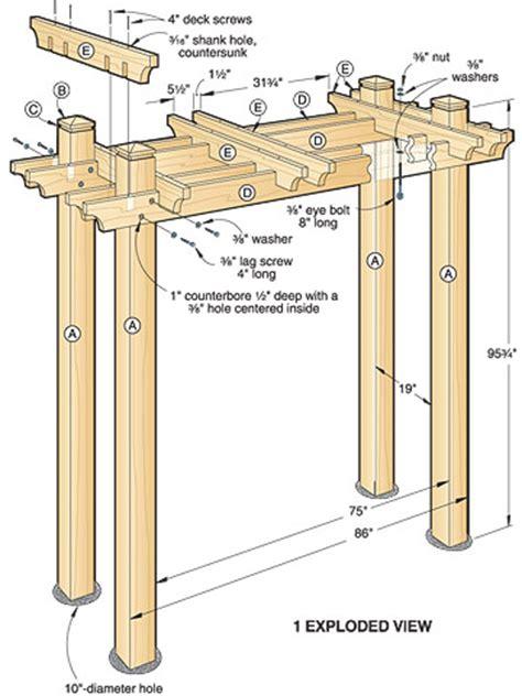 arbor swing plans arbor decal galleries