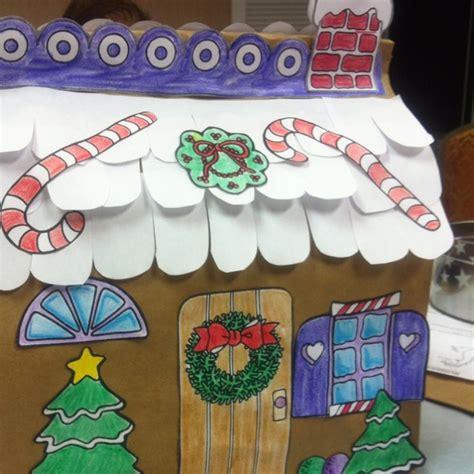 paper bag gingerbread house craft paper bag house kinder gingerbread