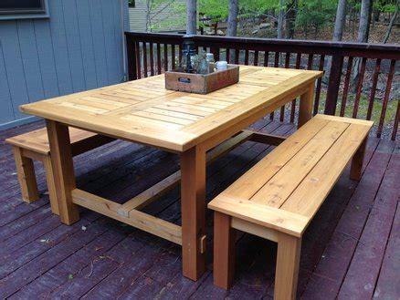 cedar patio table cedar patio table by frediv lumberjocks
