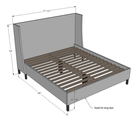 how to build a california king bed frame white build a morris upholstered bed california