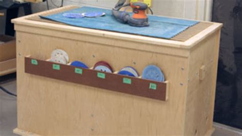 sanding stations for woodworking a versatile sanding station finewoodworking