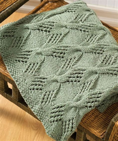 Cable Knit Throw Knitting Pattern Mantas Tric 244 E Croch 234