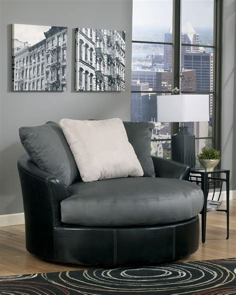 masoli swivel chair masoli cobblestone oversized swivel accent chair from