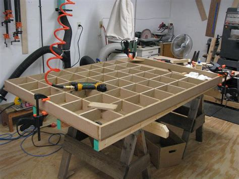 woodworking assembly table assembly table by charlie48 lumberjocks