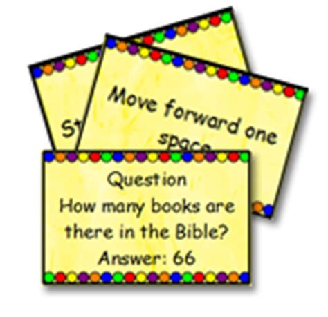 how to make question cards for a board make your own board to go with your bible lesson