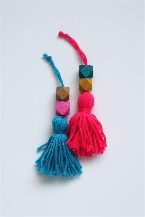 beaded tassels how to make diy tutorial beaded tassel ornaments sew diy