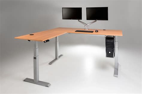 standing work desks moddesk pro l shaped corner standing desk multitable