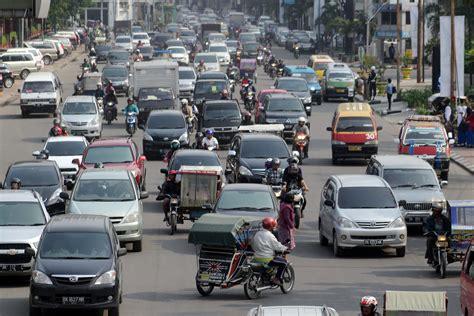 di medan kemacetan di kota medan berita daerah