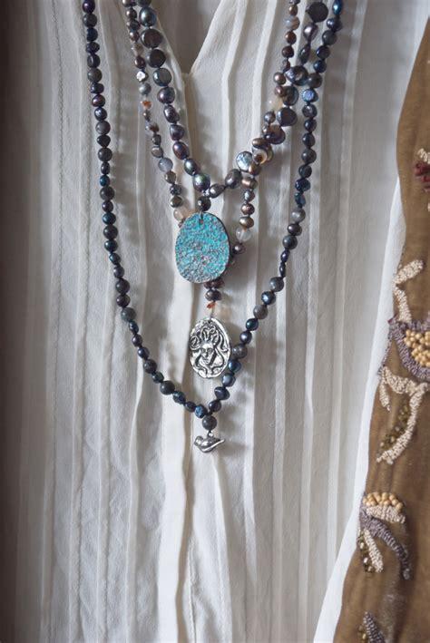 how to make bohemian jewelry bird necklace boho necklace hippie necklaces