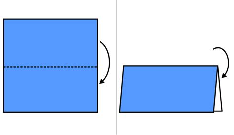 mountain fold origami file origami mountain fold svg wikimedia commons