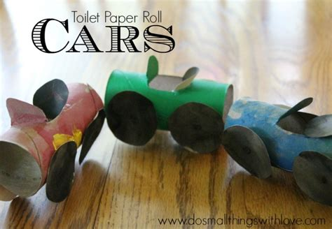 toilet paper roll car craft 11 preschool crafts to do at home live like you are rich