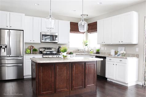 How To Update Old Kitchen Cabinets kitchen updates and bar stool ideas how to nest for less