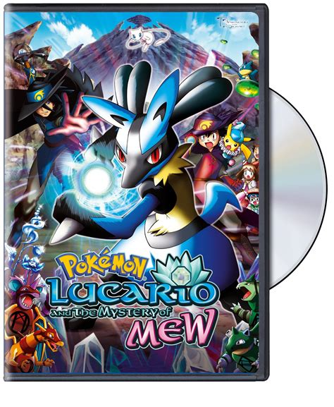 lucario and the mystery of mew r1 dvd pok 233 mon 8 lucario the mystery of mew re