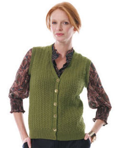 knitting pattern for waistcoat dorian waistcoat pattern knit rowan