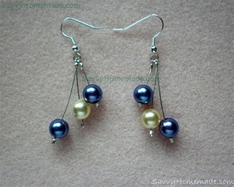 how to make beaded jewelry earrings how to make pretty crimp bead earrings
