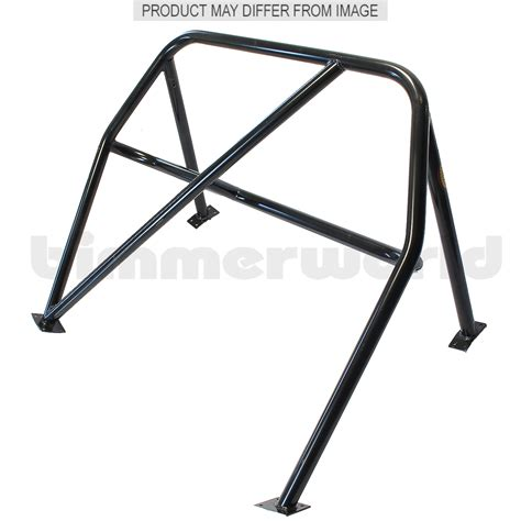 Roll Cage by Kirk Racing 4 Point Roll Bar E46 99 05 3 Series