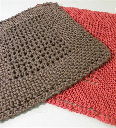 easy knit dishcloths knitting patterns dish cloths free patterns