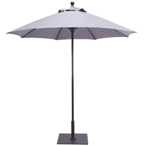 commercial grade patio umbrellas 7 5 aluminum commercial patio umbrella with fiberflex ribs