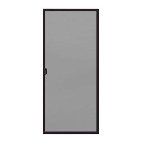 patio door screens home depot screen for 200 series 72 in x 80 in bronze aluminum
