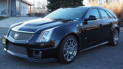 Cadillac Cts V Wagon For Sale by Score This 2012 Cadillac Cts V Manual Wagon While It