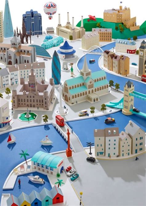 paper craft city 40 exles of cardboard city bored
